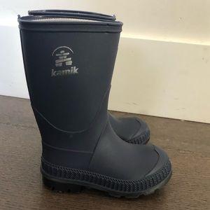 Kamik toddler rain boots
